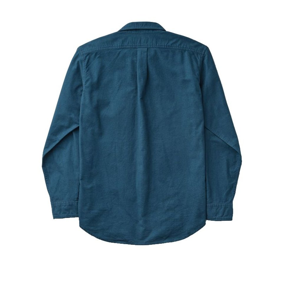 Filson Filson Field Flannel Shirt Legion Blue #1