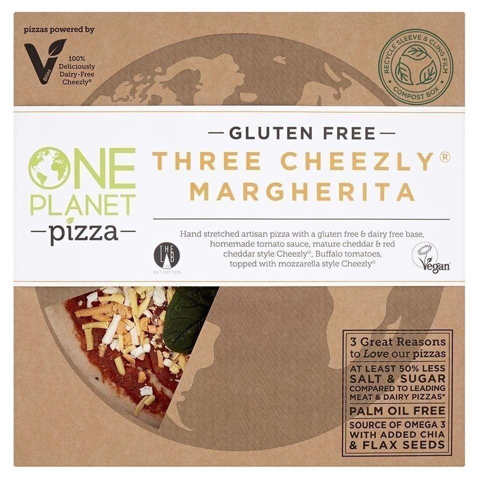 Three cheezly pizza - gluten free