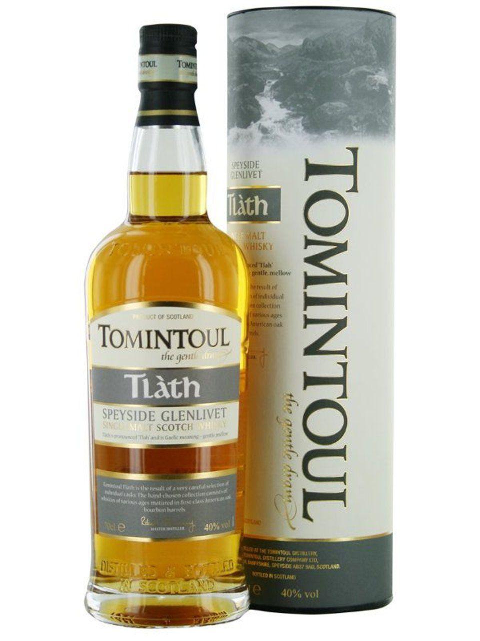 Tomintoul Single Malt Tlath Speyside 0,7 ltr