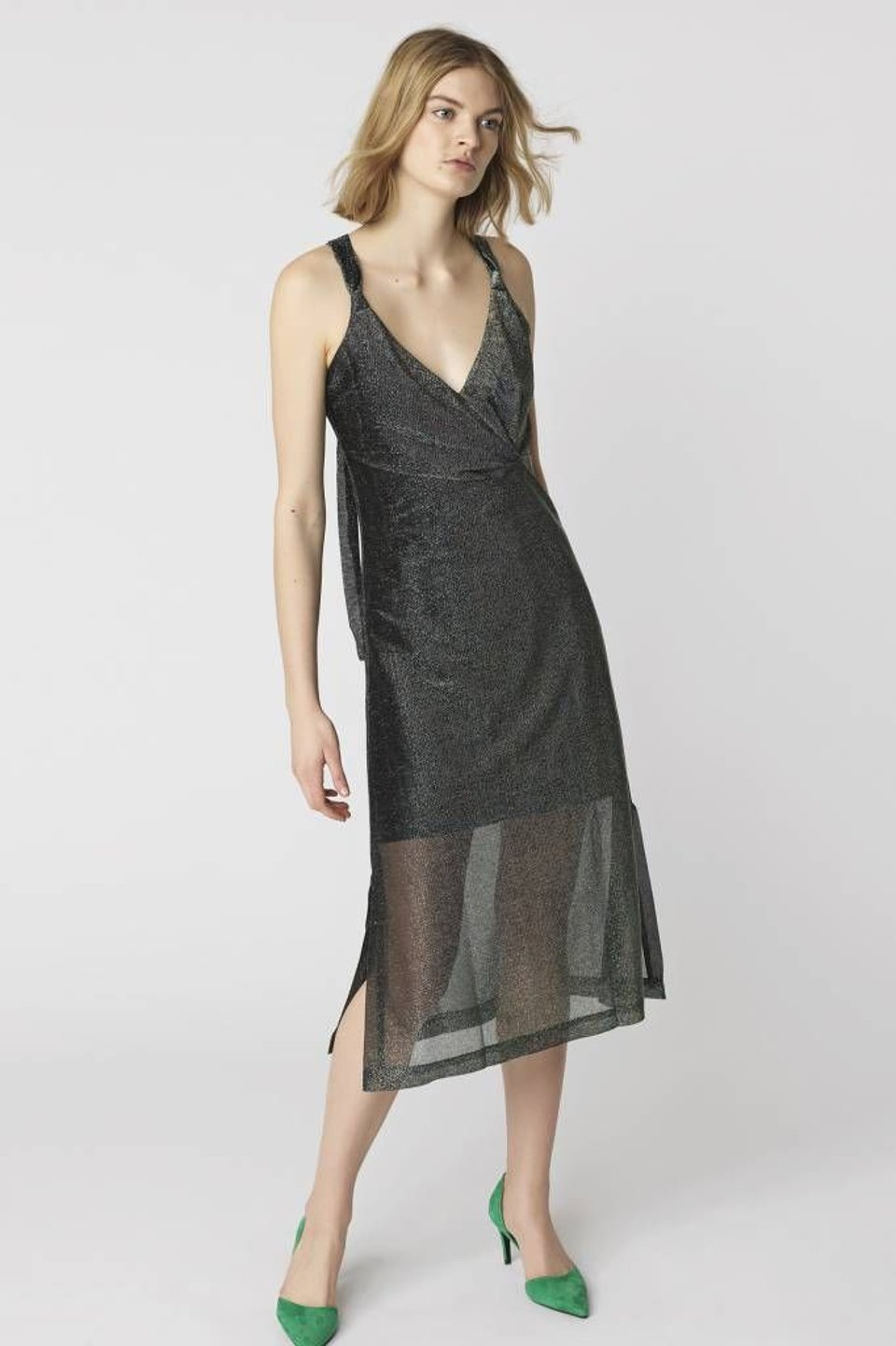 Maryann Dress - Dark Forest #1