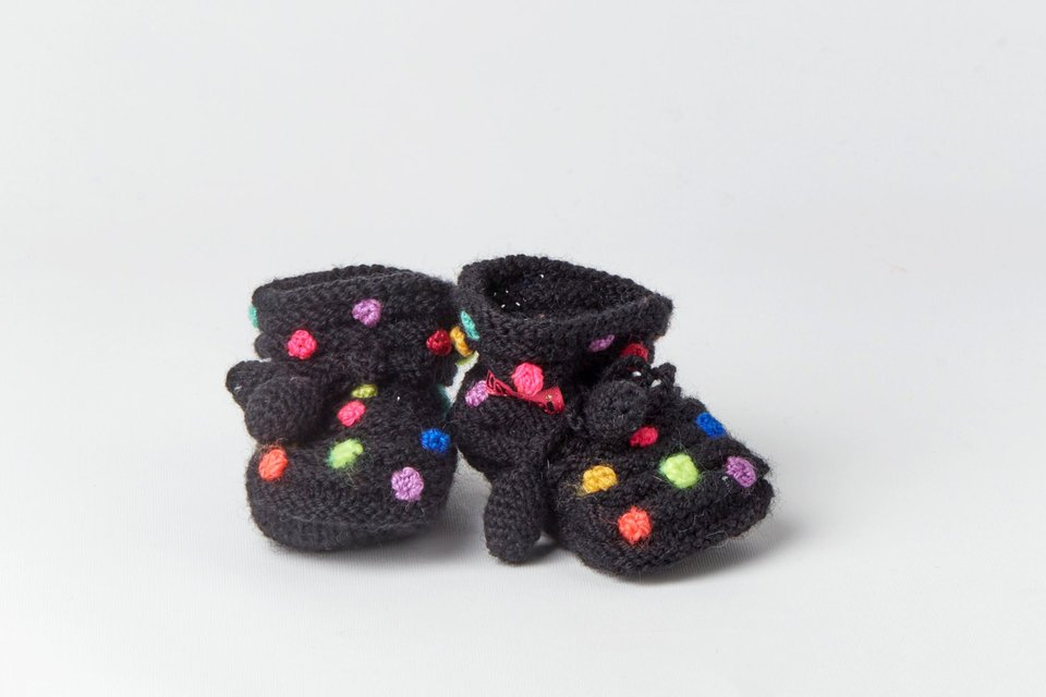 Little Dotted Booties #2