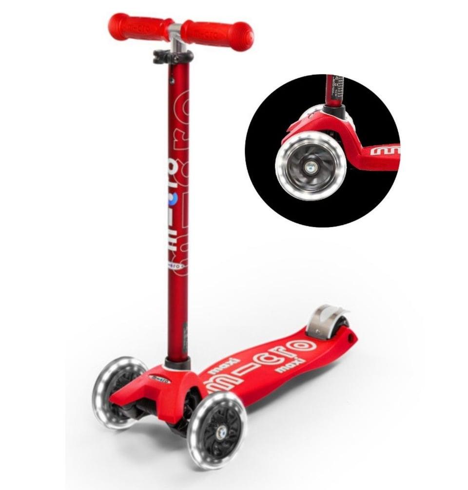 Micro Step Maxi de Luxe met Led wielen
