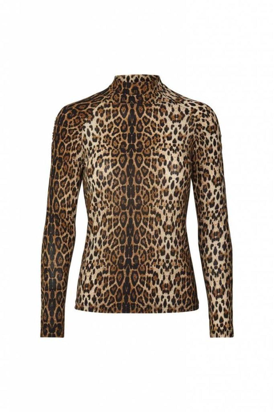 Ellen Blouse - Leopard