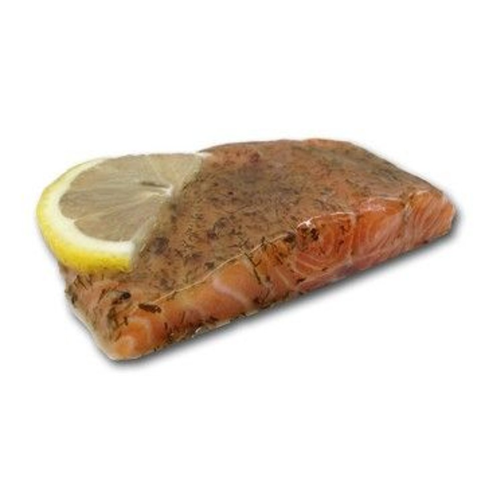 Zalm in dille