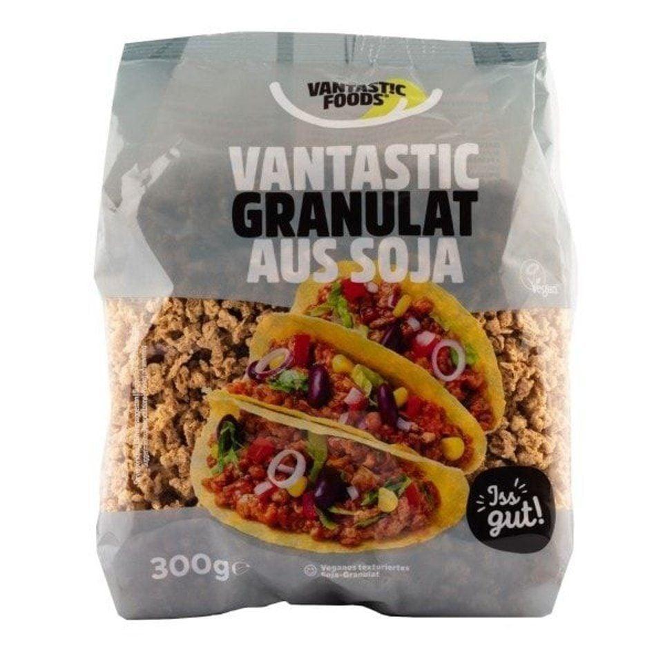 Soja granulat