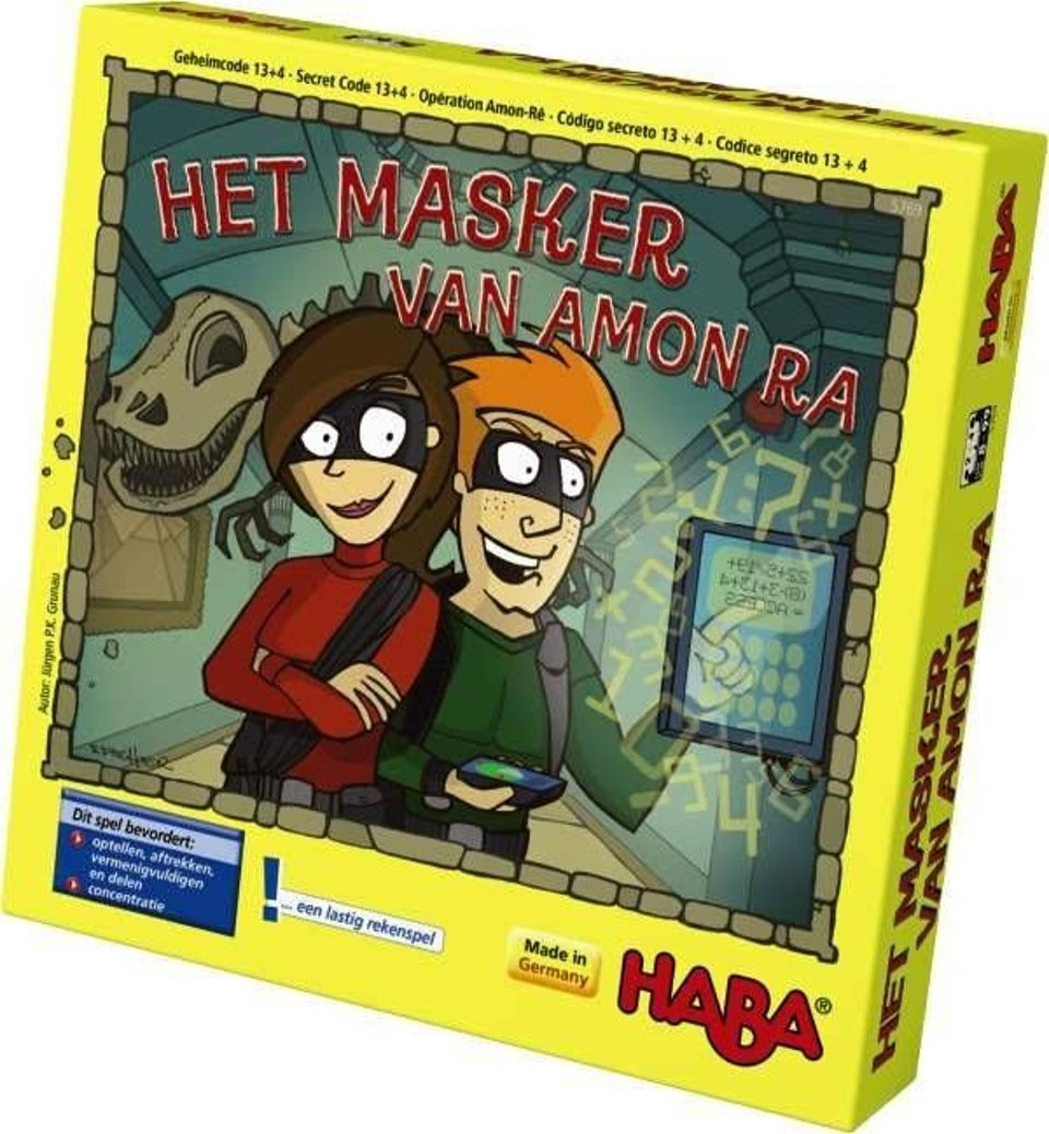 Haba Spel Masker Van Amon Ra