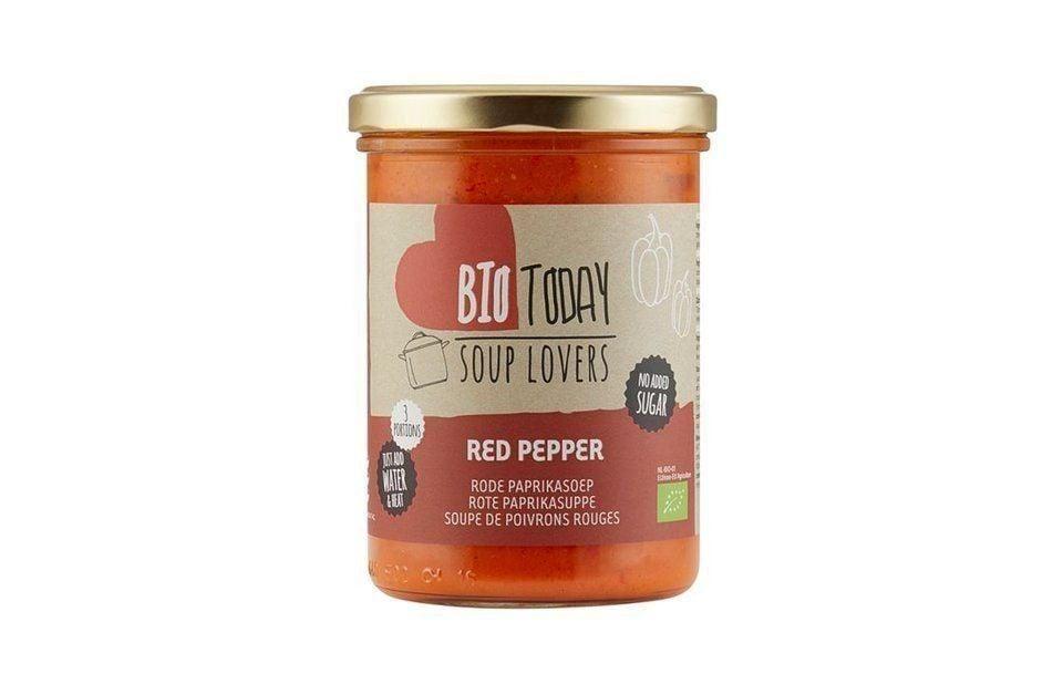 Red paprika soup