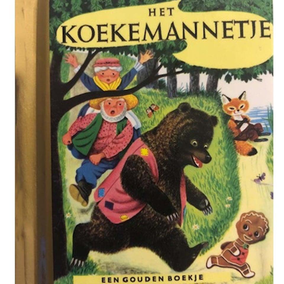 Mini Goudenboekje - Het Koekemannetje