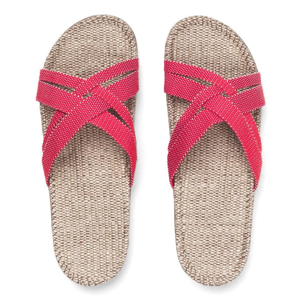 Shangies slippers dames rood