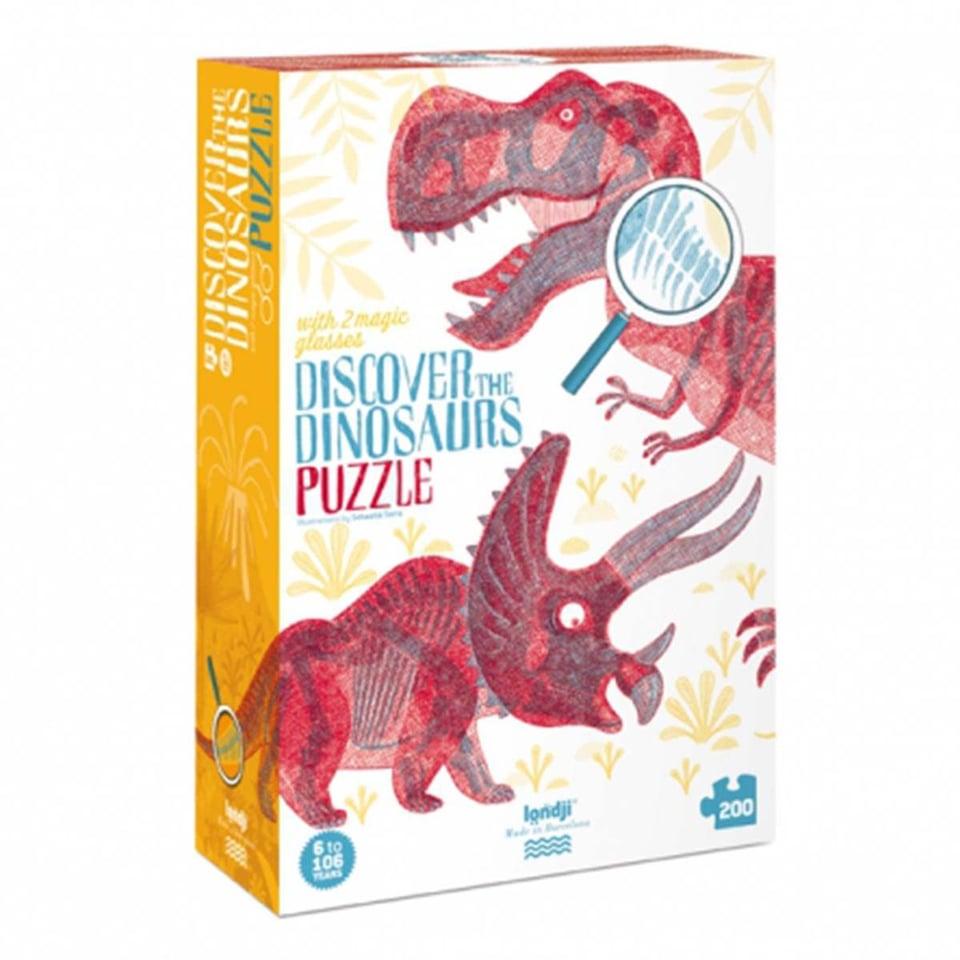 Londji Puzzel Discover Dinosaurus
