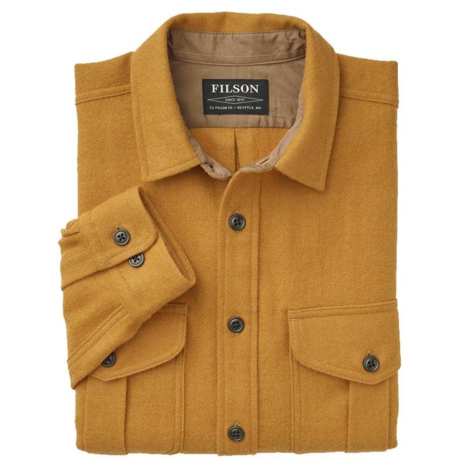 Filson Filson Northwest Wool Shirt Mustard #2