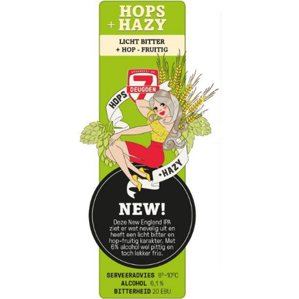 Hops+Hazy - Licht Bitter + Hop Fruitig