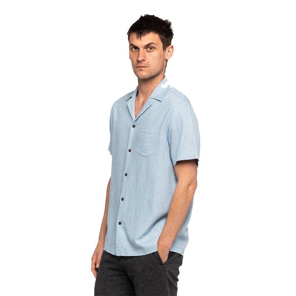 Banks Journal Banks Journal Brighton S/S Shirt Newport Blue #3