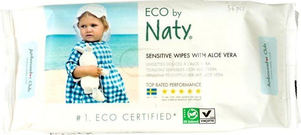 Naty Babydoekjes aloe-vera