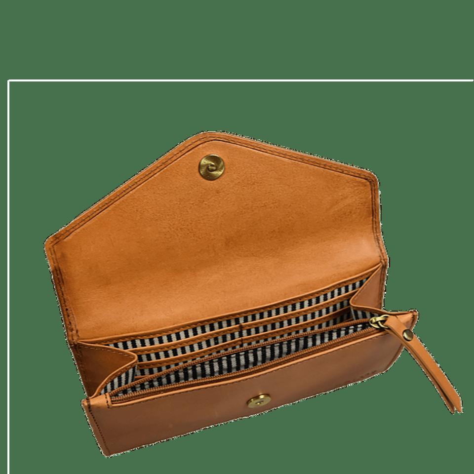O My Bag Envelope Pixie Classic Cognac #1