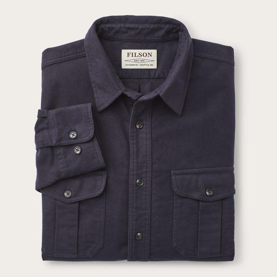 Filson Filson Moleskin Seattle Shirt Navy #2