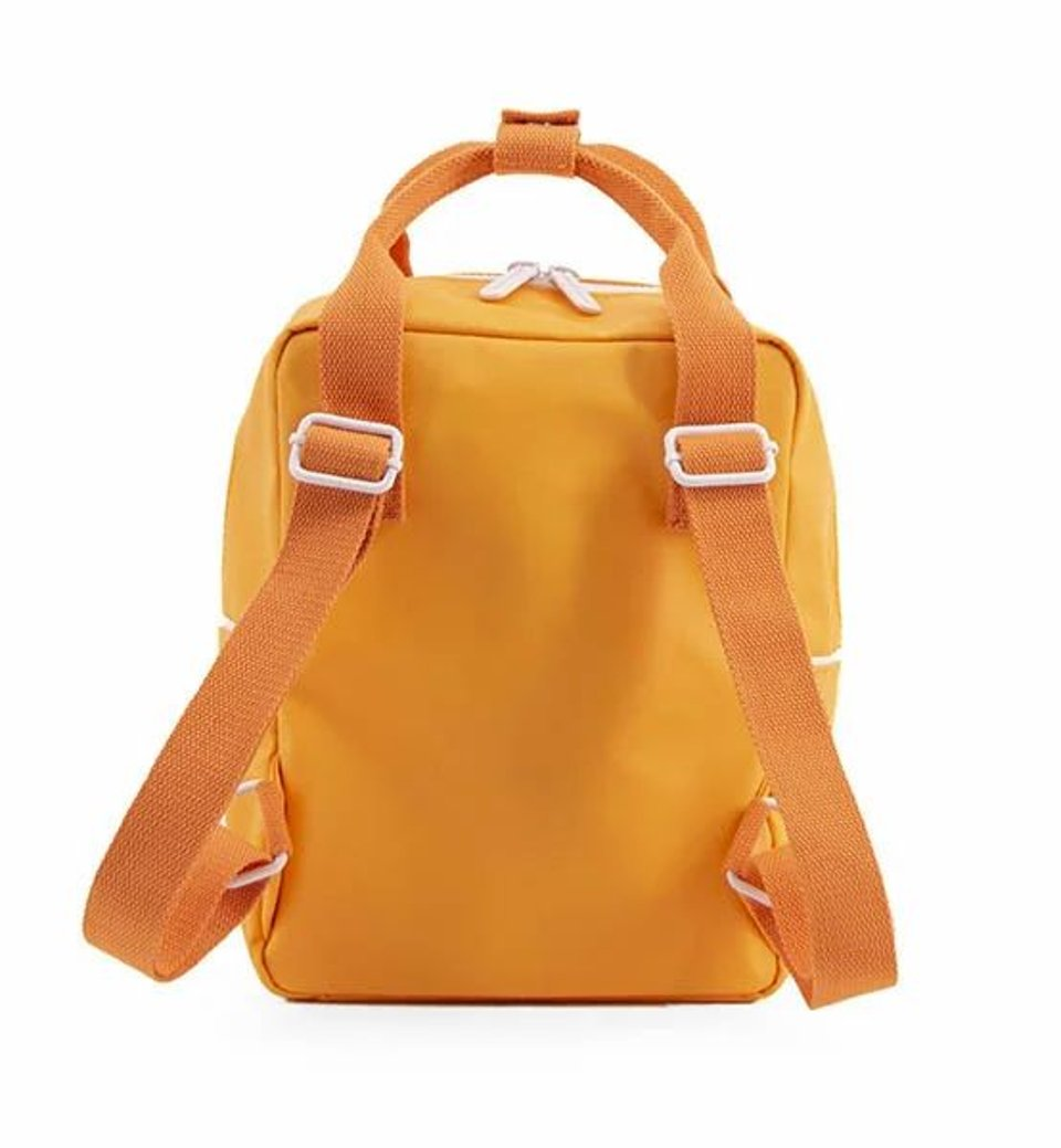 Sticky Lemon small backpack wanderer - sunny yellow + carrot orange + candy pink  #2