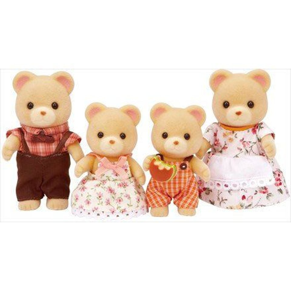 Sylvanian Families Beer Familie