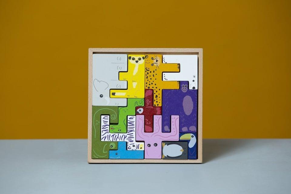 3D Dieren Puzzel