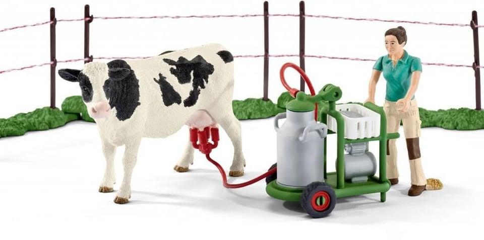 Schleich Koeienfamilie op de weide #3