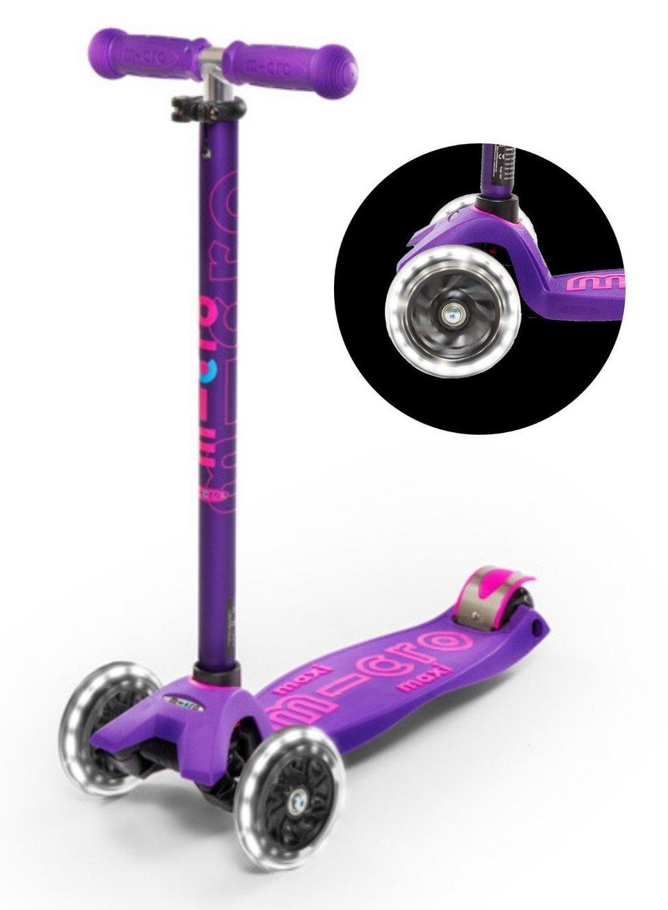 Micro Step Maxi de Luxe met Led wielen #1