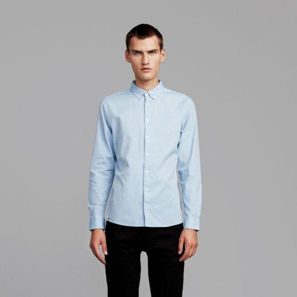 Makia Makia Bellevue Shirt Light Blue #1