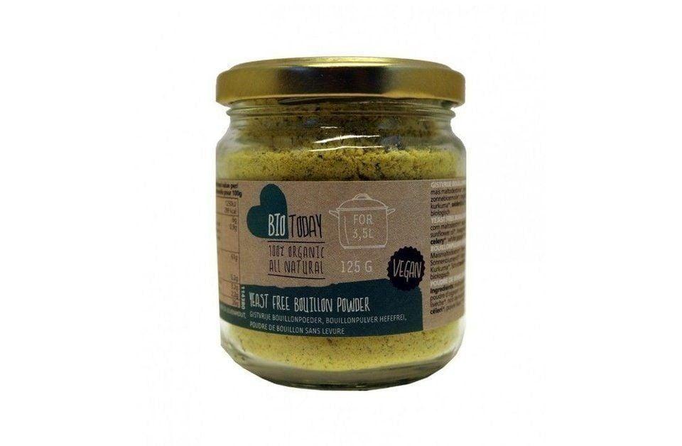 Yeast free bouillon powder
