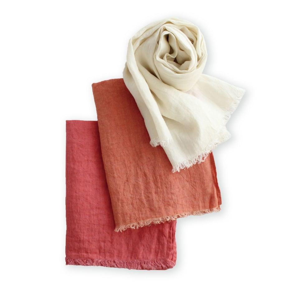 Lino e Lina linnen sjaal, koraal #2