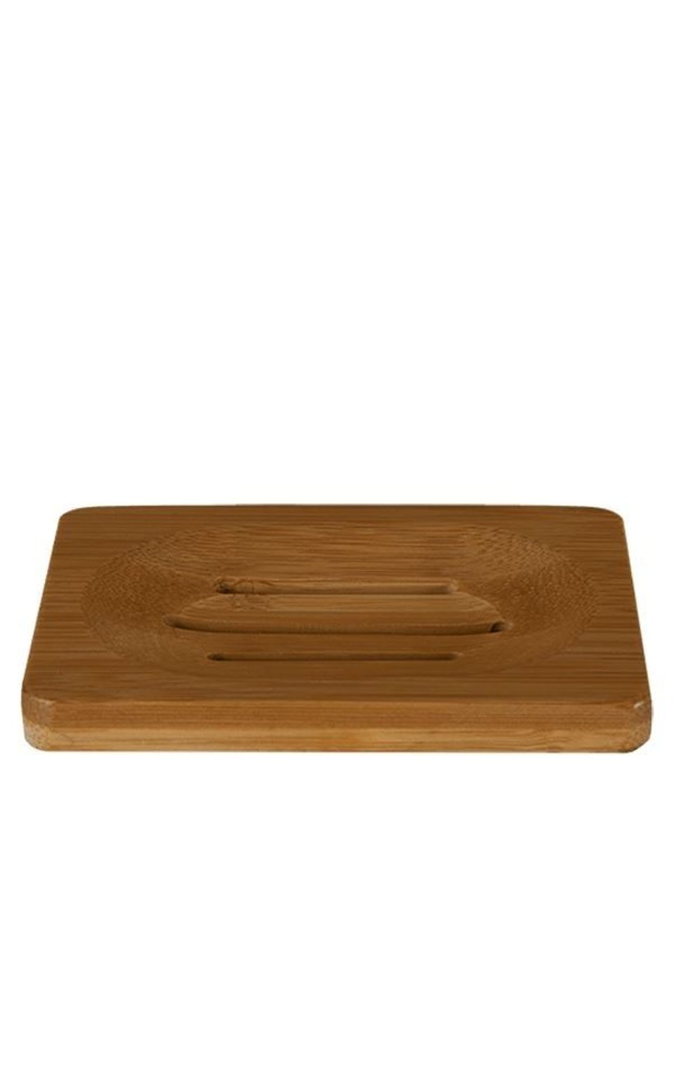 Soap Dish Bamboo 2pc