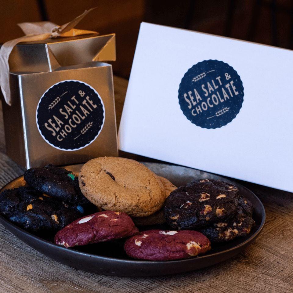 Cookie addiction box (8 cookies)