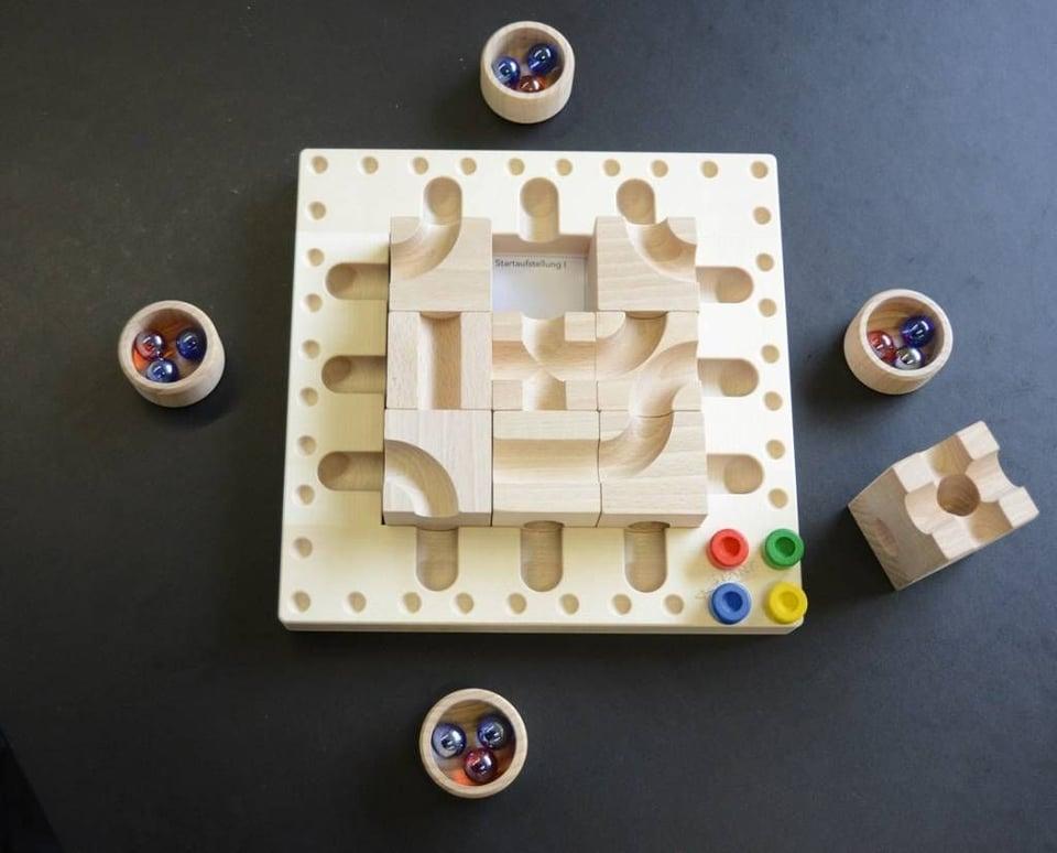 CuboroTricky Ways (knikkerbaan spel) #1