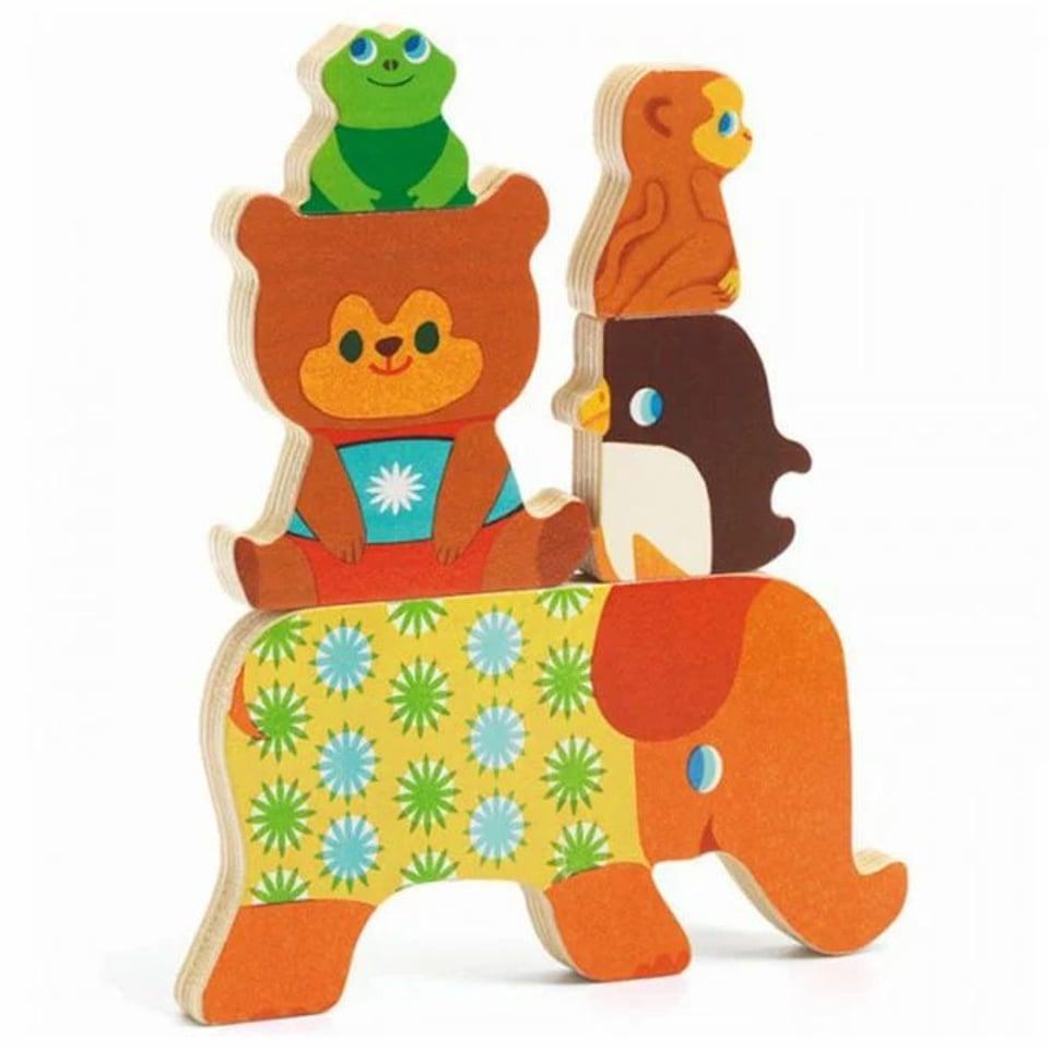 Djeco houten puzzel Woodypile 1 +  #1