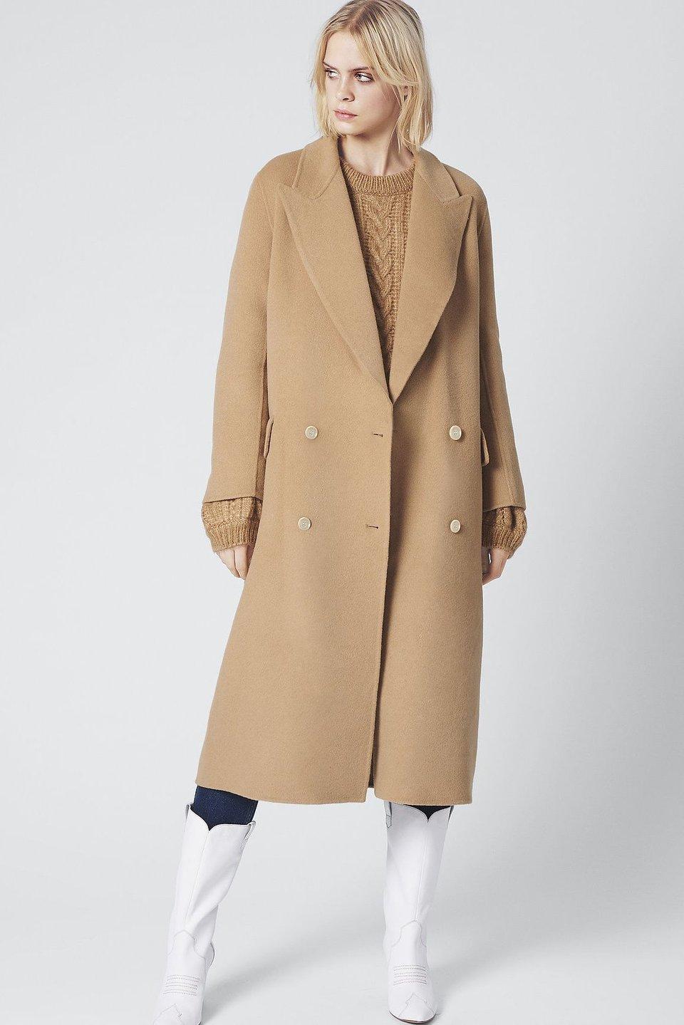 LeaGZ Coat - Camel