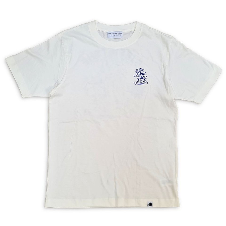 Behind The Pines Behind the Pines x Sjefietshe Hotdogtopus Tee Off White