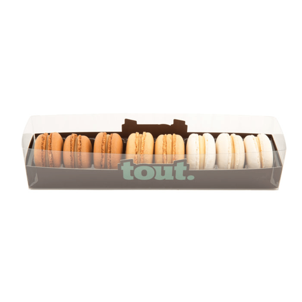 macaron naturel collectie 8 stuks