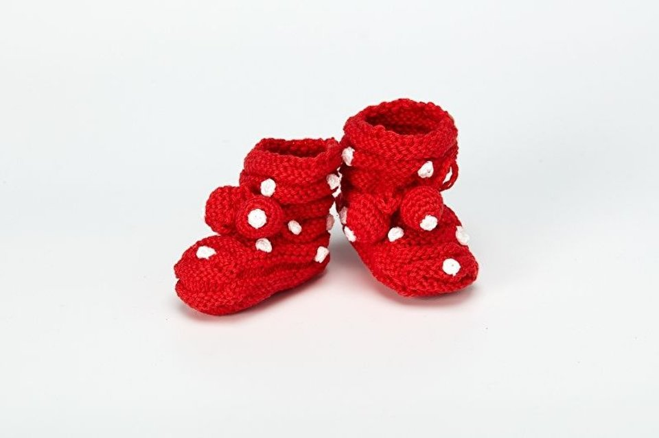 Little Dotted Booties