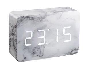 Brick Click Clock - Marble