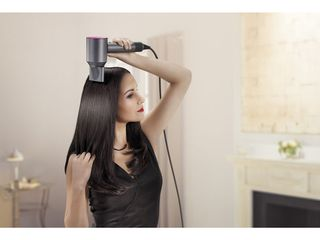Dyson Supersonic Hair Dryer - Iron & Fuchsia