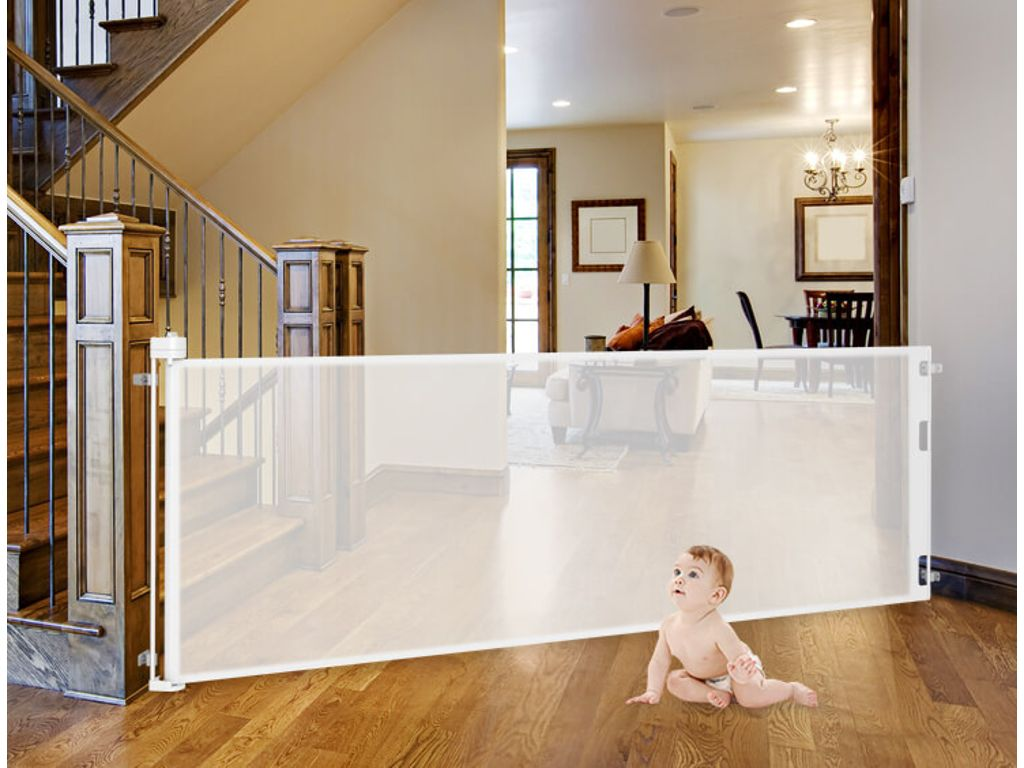 Retractable Baby Gate Features Retractagate Peddler